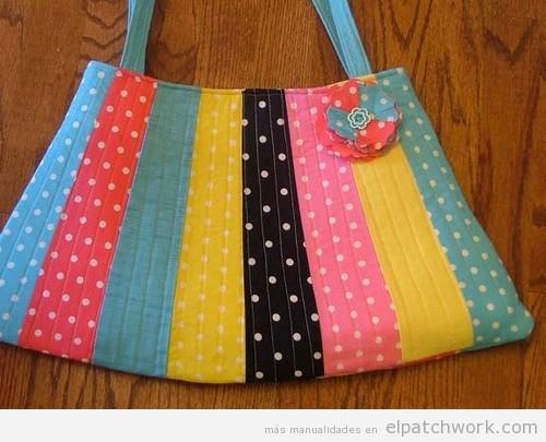 Bolsos hecho de patchwork