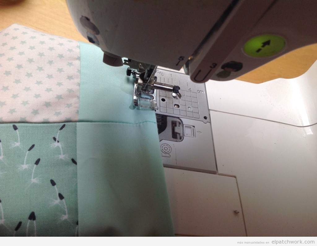 C mo hacer una colcha de patchwork paso a paso el - Como hacer colchas de patchwork ...
