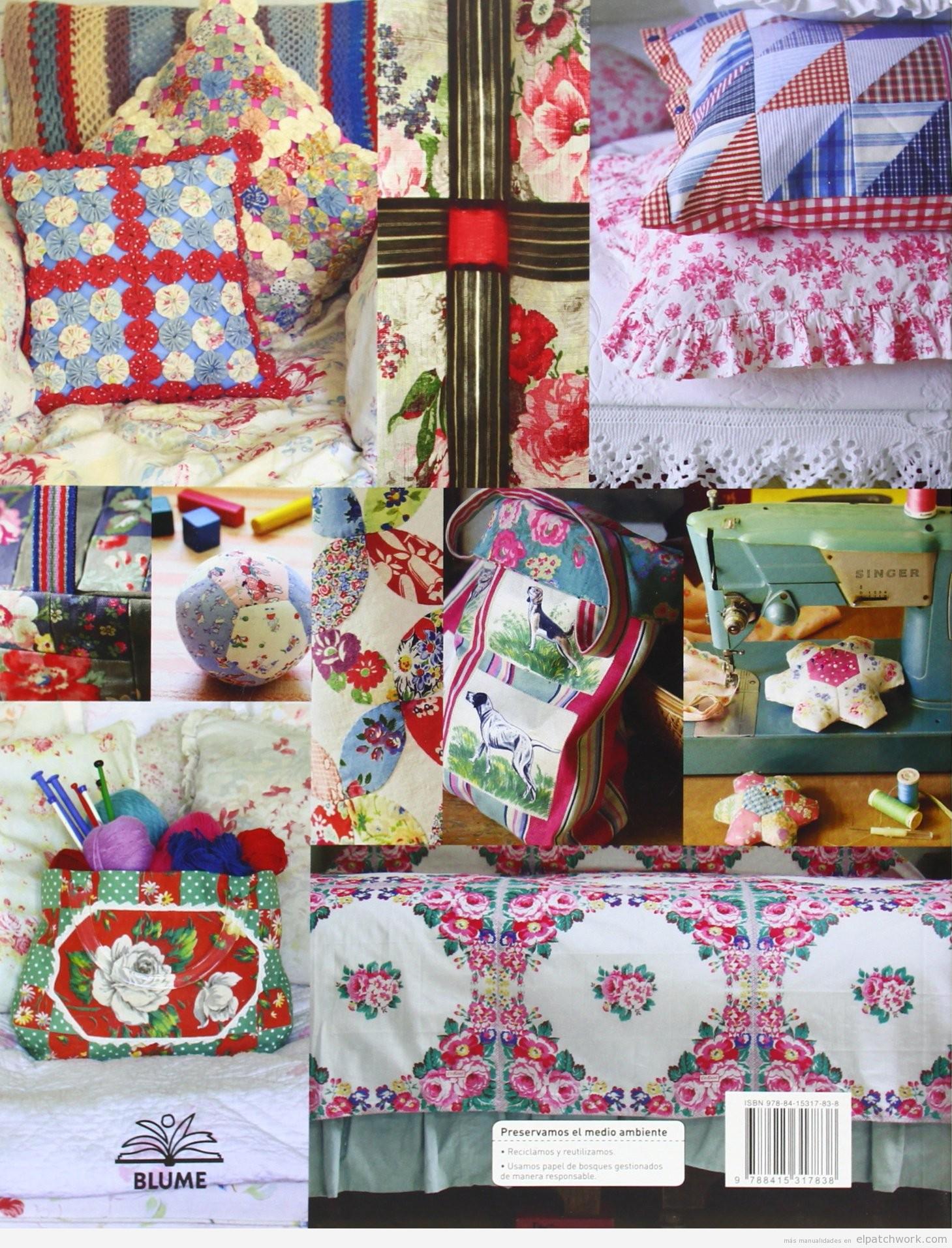 Comprar online manual y patrones patchwork o quilting Cath Kidston 2