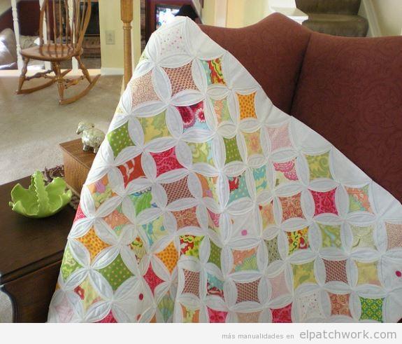 Ideas patrones y tutoriales para aprender a hacer - Patrones colchas patchwork ...