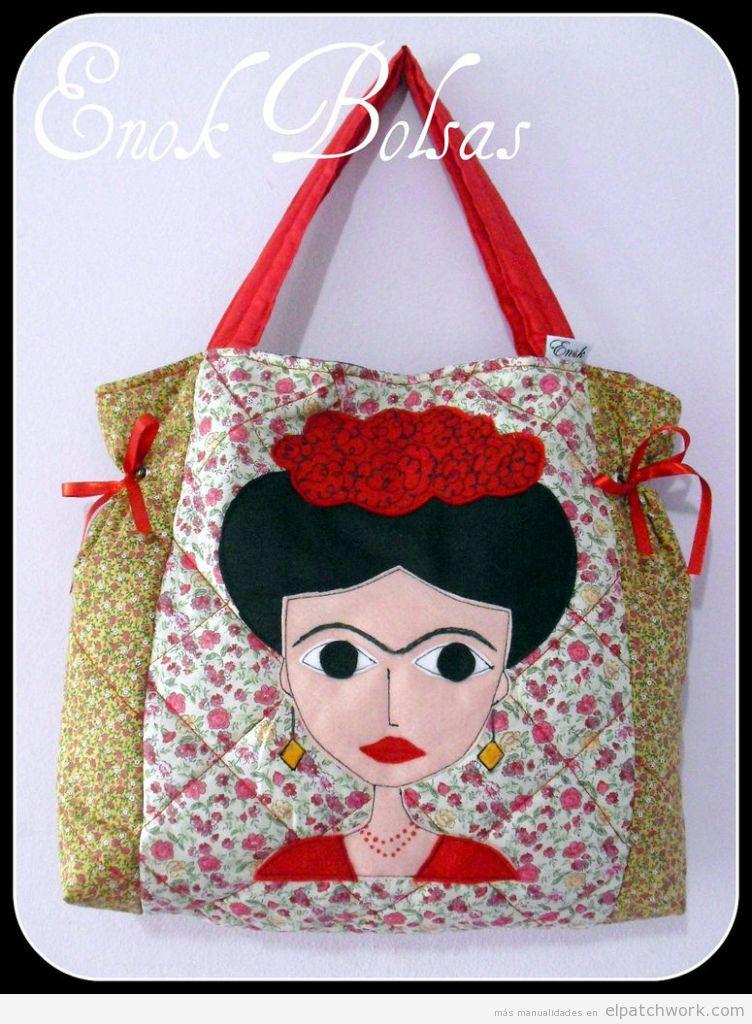 Bolso patchwork Frida Kahlo