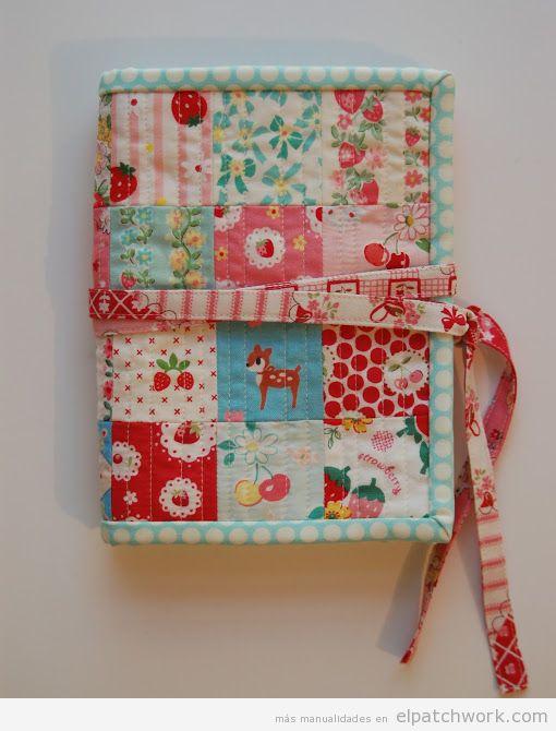 Tutorial funda libro patchwork o kit de viaje, paso 1