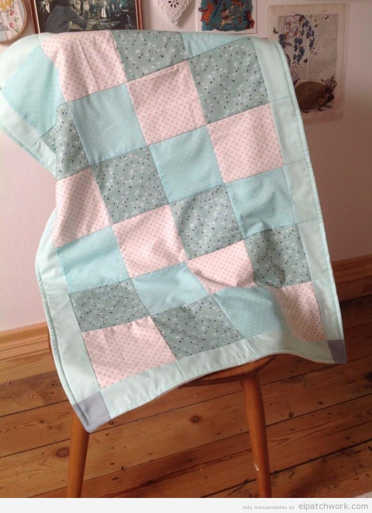 Tutorial cómo hacer colcha patchwork paso 1