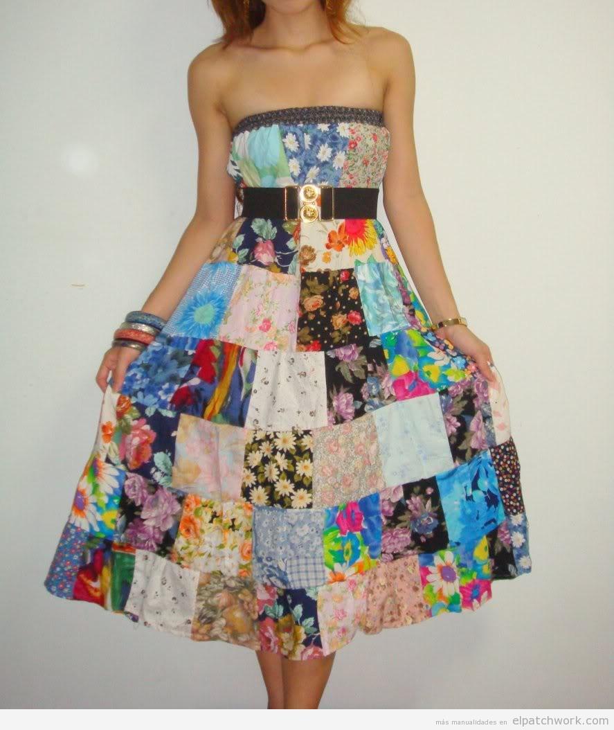 Vestidos de patchwork DIY fácil