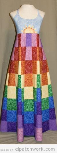 Vestidos de patchwork DIY fácil 3