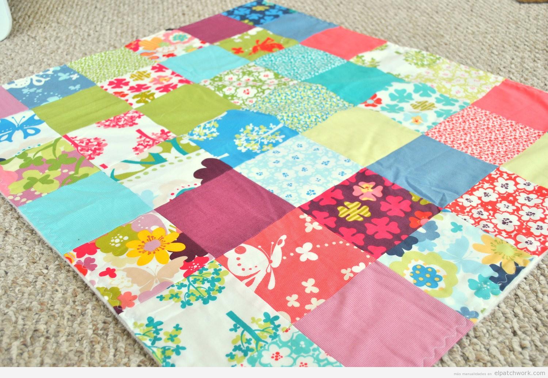 Mantas y colchas de patchwork para bebés y niños 8