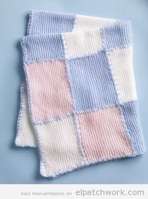 Mantas y colchas de patchwork para bebés y niños