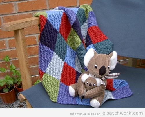 Mantas y colchas de patchwork para bebés y niños 2