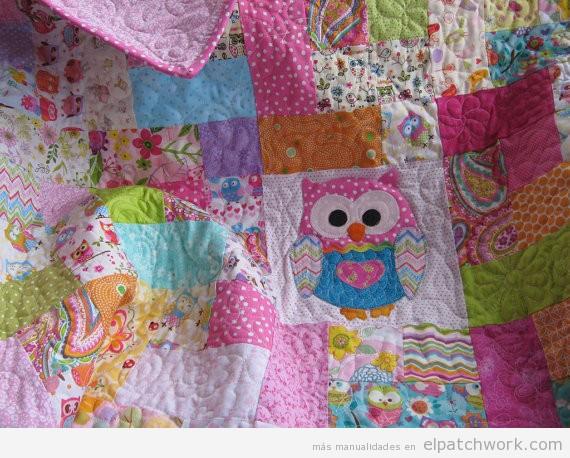 Mantas y colchas de patchwork para bebés y niños 4