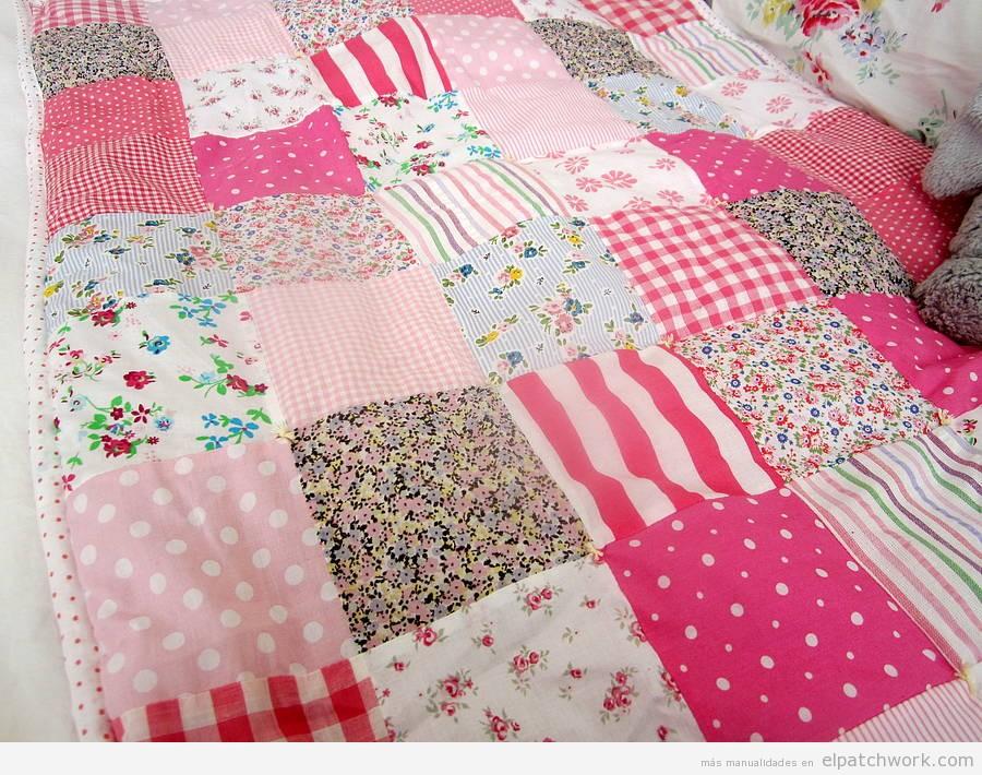 Mantas y colchas de patchwork para bebés y niños 5