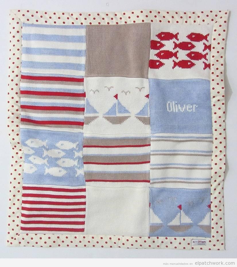 Mantas y colchas de patchwork para bebés y niños 7