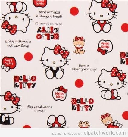 Comprar online telas Hello Kitty