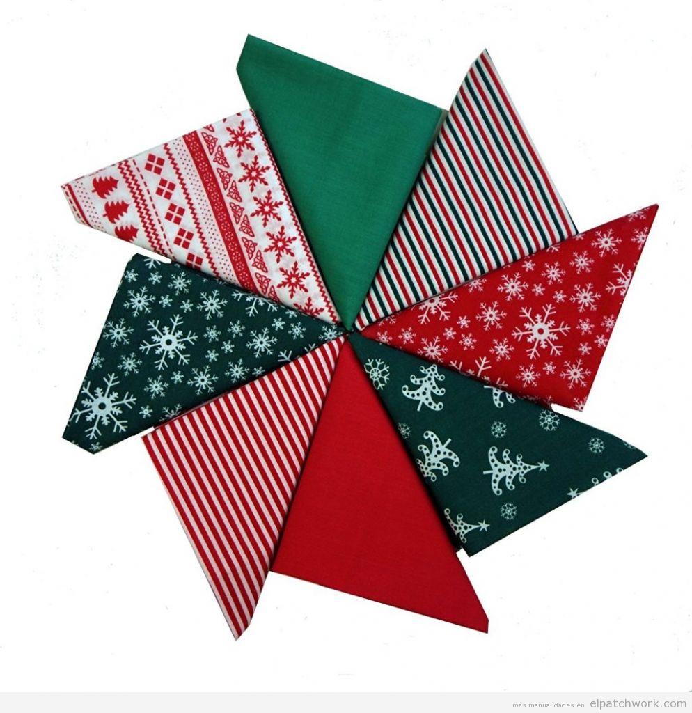 Comprar retales patchwork estampado Navidad