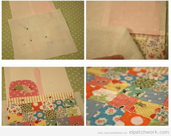 Tutorial funda de patchwork para móvil paso 4