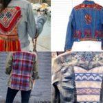 Las chaquetas de patchwork son tendencia esta temporada