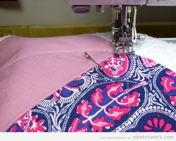 Tela patchwork coser máquina