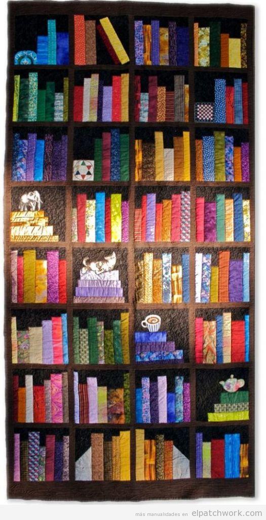 Colchas de patchwork modernas 5