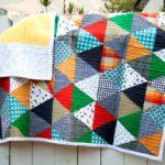 10 Colchas de patchwork modernas y coloridas
