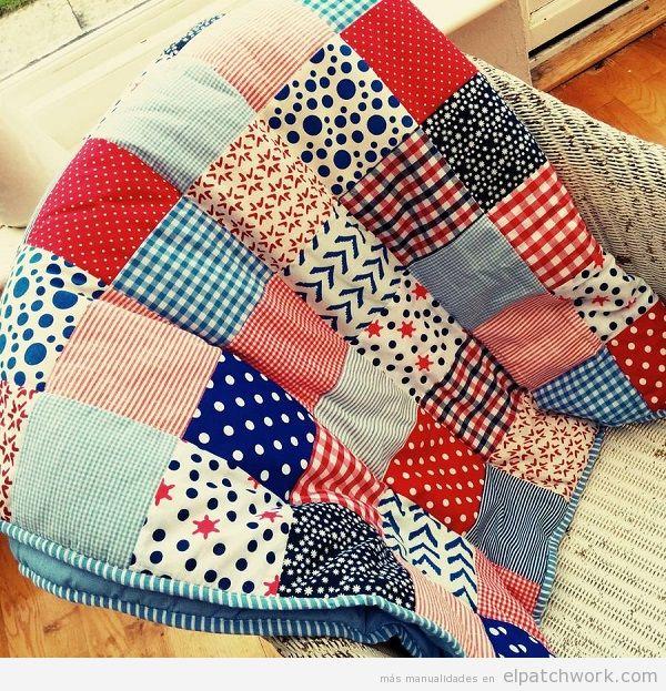 Colchas de patchwork modernas