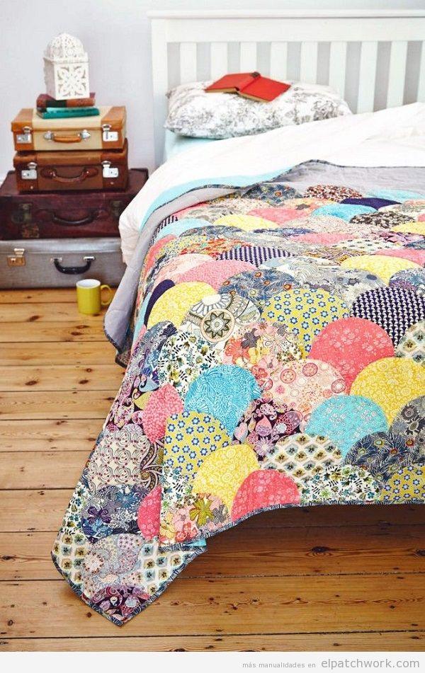 10 colchas de patchwork modernas y coloridas el patchwork - Acolchados en patchwork ...