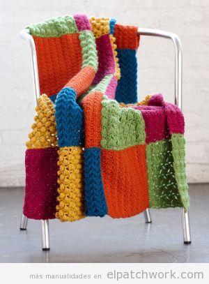 Manta patchwork sillón 2