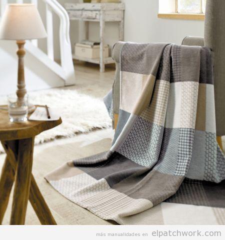 Manta patchwork sillón 3