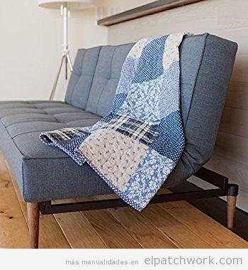Manta patchwork sofá 6