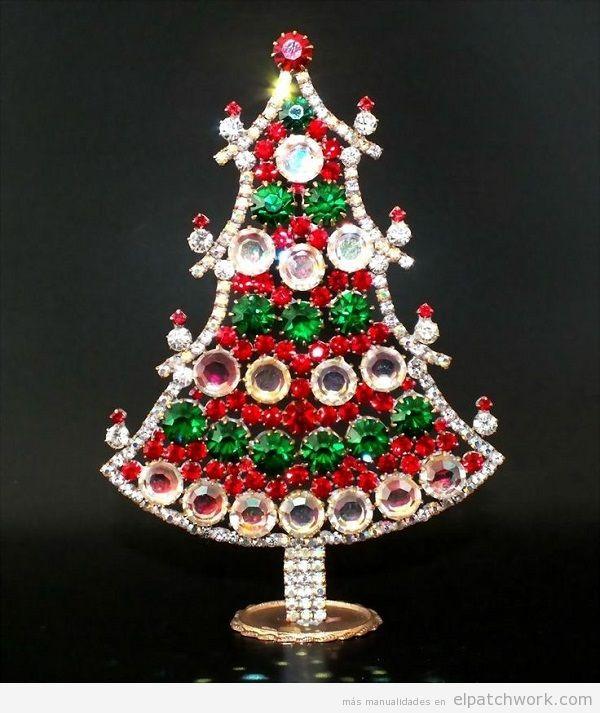 Árbol de Navidad de strass