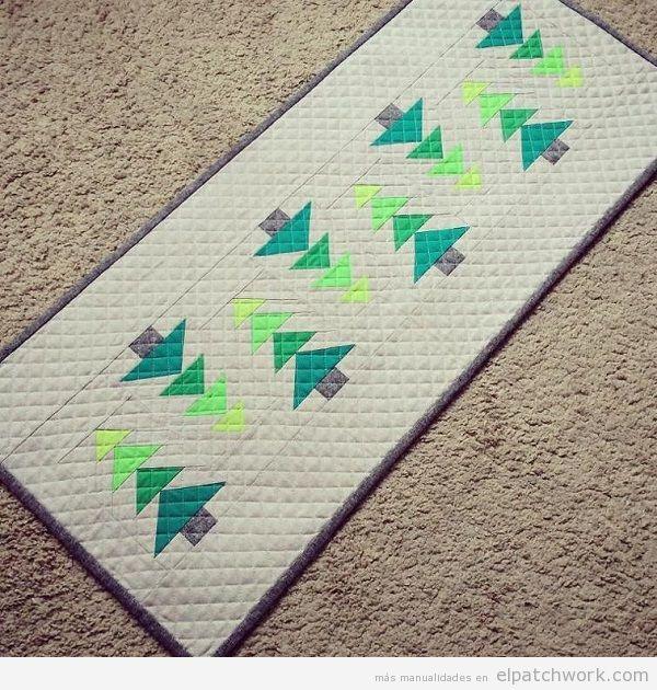 Camino mesa Navidad patchwork