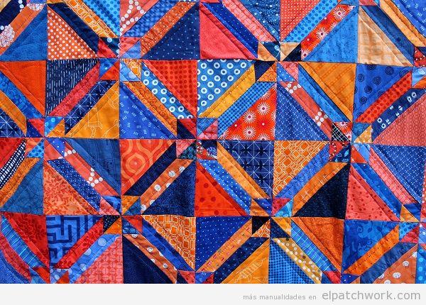 Colcha de patchwork modelo Gretchen 4