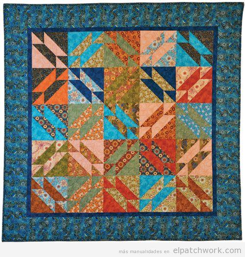 Colcha de patchwork modelo Gretchen 3