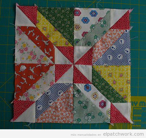 Colcha de patchwork modelo Gretchen 2
