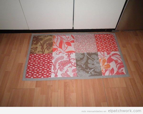 Alfombras de patchwork DIY 2