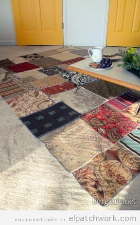 Alfombras de patchwork DIY 6