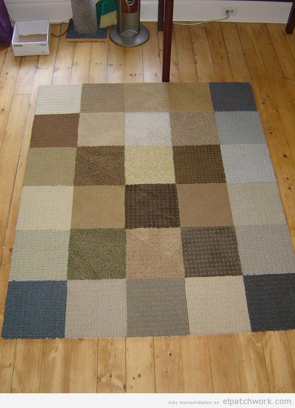 Alfombras de patchwork DIY