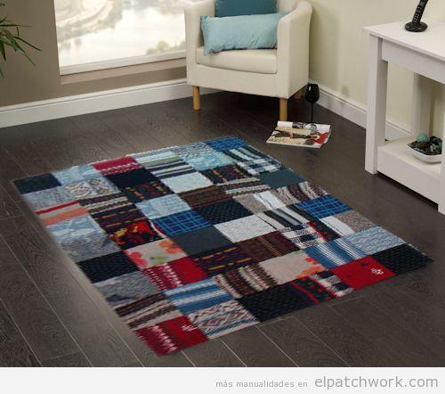 Alfombras de patchwork DIY 3