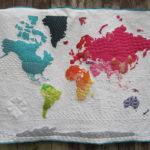 Mapa mundi de patchwok: 12 diseños que os van a enamorar