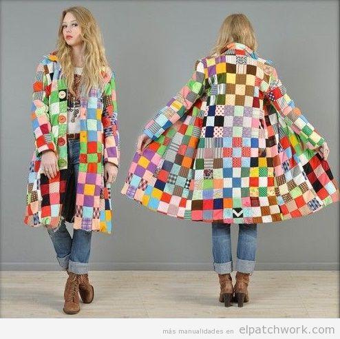 Chaqueta de patchwork 2