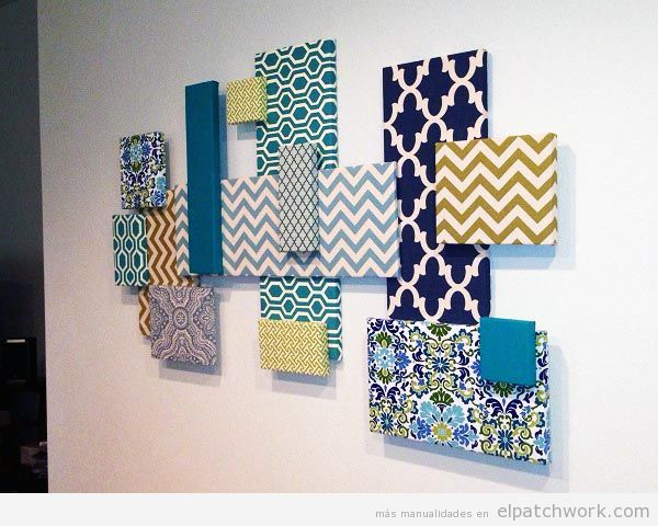 Decorar paredes patchwork 9