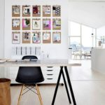 Cuadros de patchwork para decorar las paredes del despacho o la oficina