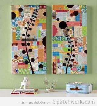 Decorar paredes patchwork 3