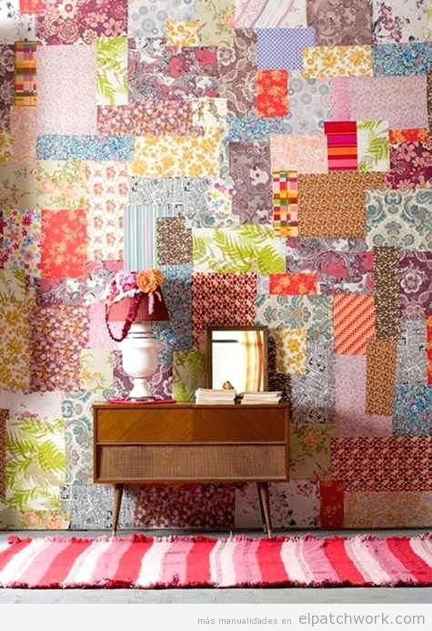 Decorar paredes patchwork 5