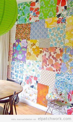 Papel pintado patchwork 11