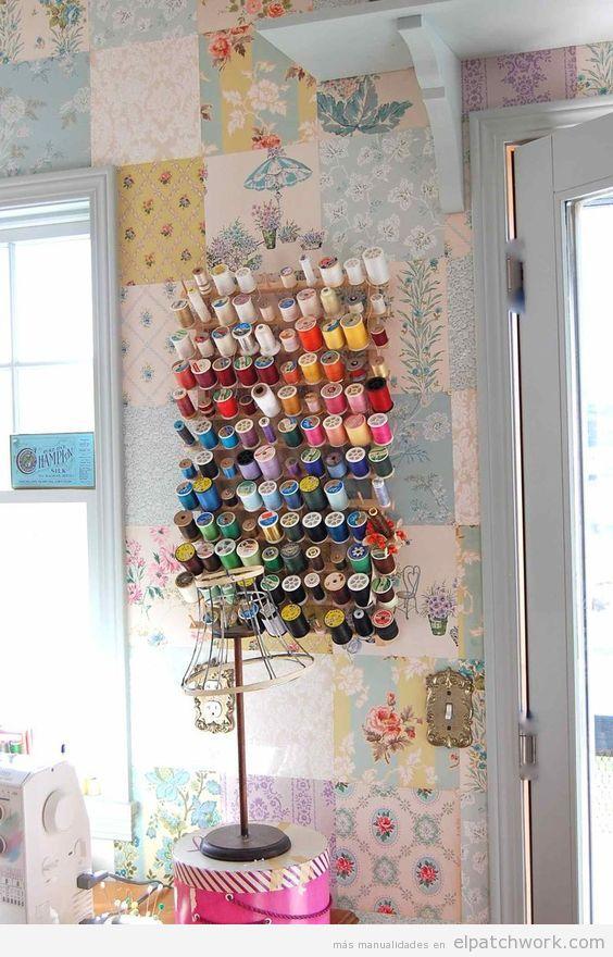 Papel pintado patchwork 9