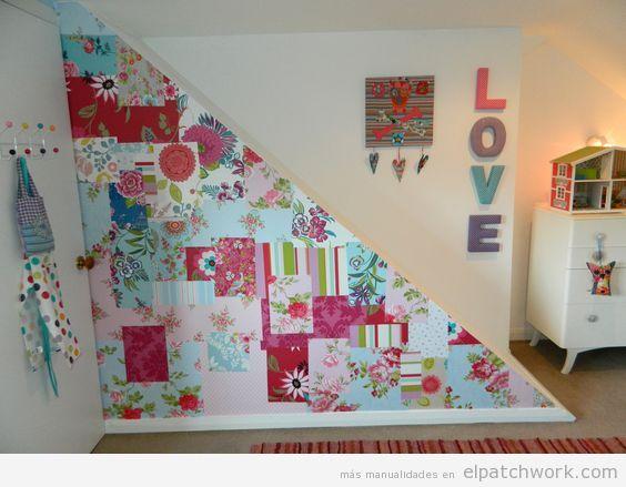 Papel pintado patchwork 4