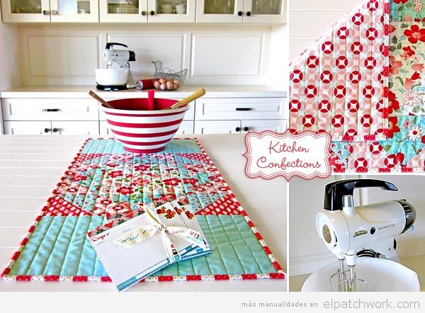 Mantel patchwork cocina