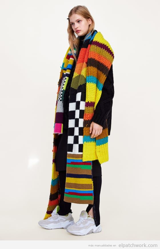 Bufanda patchwork