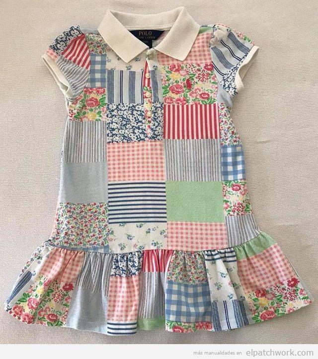 Vestidos patchwork bebés 4