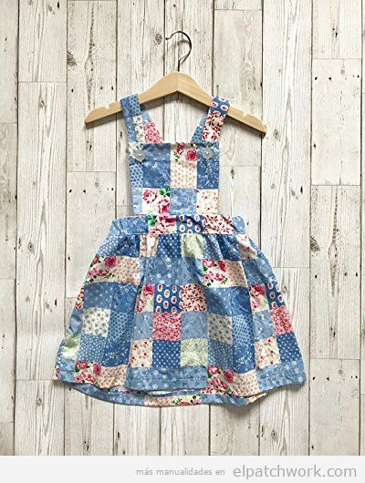 Vestidos patchwork bebés 8