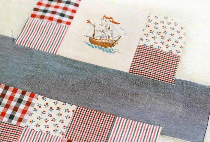 Tutorial neceser patchwork paso 5